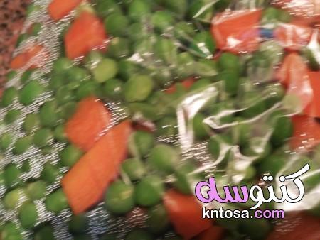 طريقة تخزين البسلة والجزر،تفريز الخضار،طريقة حفظ الخضار المقطعه،طريقة تخزين البسلة الخضراء الصحيحة kntosa.com_12_20_158