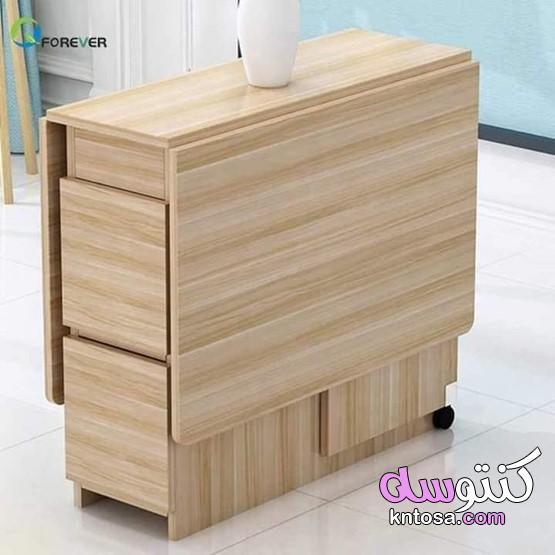 طاولة قابلة للطي للمنزل،طاولة رباعية للمساحات الصغيرة kntosa.com_12_21_161