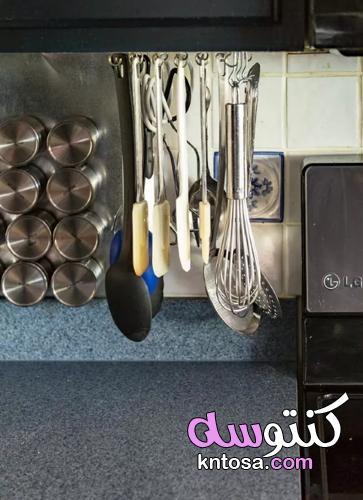 فكرة منظمة مطبخ diy رخيصة