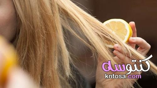 بالليمون.. وصفات متعددة للبشرة والشعر kntosa.com_12_21_163
