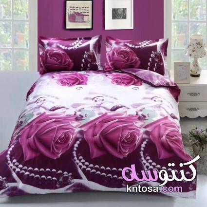 احدث ملايات السرير للعرائس,اطقم سرير 3d اخر شياكه,مجموعة افرشة سرير للعرايس اخر موضة و شياكة2020 kntosa.com_13_19_156