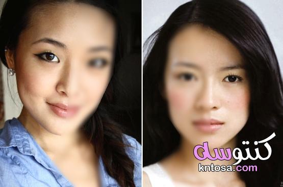 طريقة وضع ظلال العيون المناسب لشكل عينيكِ ولونهما kntosa.com_13_20_158