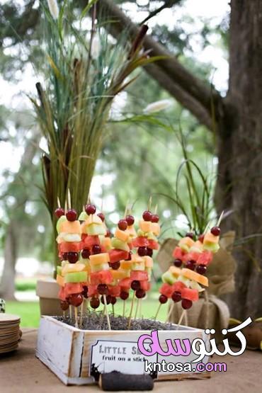طريقة ترتيب الفواكه بالصور،أفكار تزيين الفواكه للاطفال kntosa.com_13_21_161
