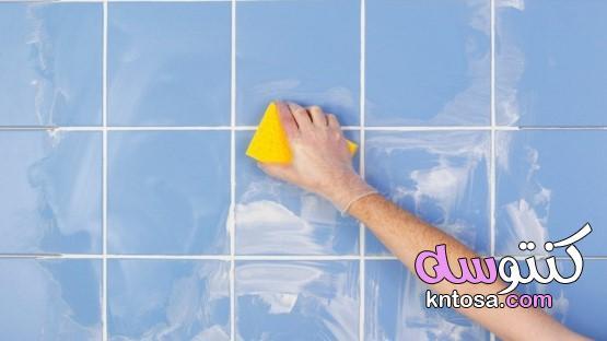 تنظيف الحوائط والجدران من البقع والألوان بخلطة جبارة بدون خدش وبأقل مجهود