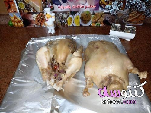 طريقة عمل البط المحشي بالمرته،طريقة عمل البط الدمياطى بالمرتة - منتدى كنتوسه kntosa.com_13_21_162