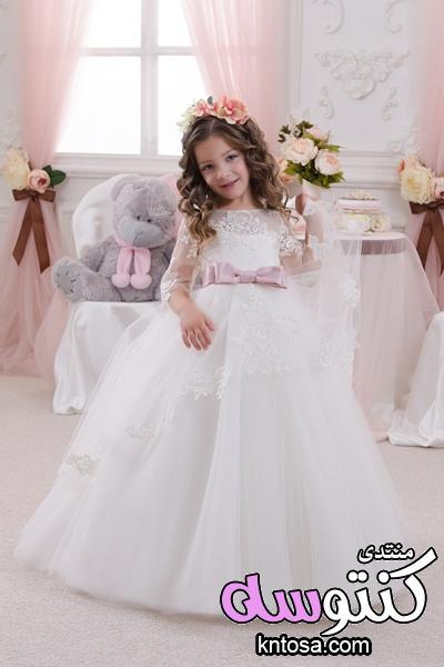فساتين افراح اطفال جميلة,احدث موديلات فساتين الزفاف للاطفال,فساتين افراح اطفال ابيض,فساتين اطفال kntosa.com_14_18_153