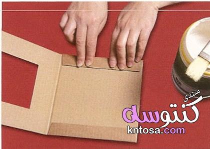 كيف تصنع برواز من الكرتون,طريقة عمل براويز يدوية,طريقة عمل برواز مودرن,برواز للصور2019 kntosa.com_14_19_154