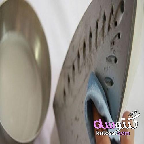 طريقة تنظيف المكواة من الحروق,كيفية تنظيف المكواة من الحروق kntosa.com_14_19_155