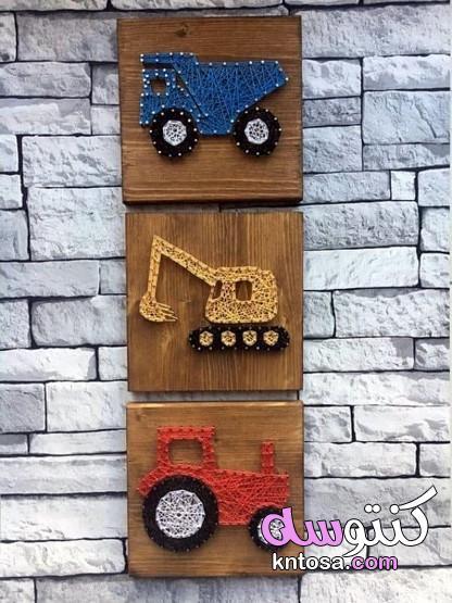 فن السلسلة،String art،نمط قلب سلسلة الفن 2021 ،Pin on Nail String Art kntosa.com_14_20_160