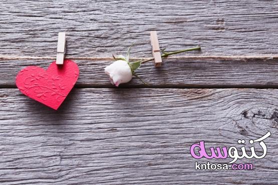 عيد الحب بطاقة هدية والورود الحمراء،خلفيات الفلانتاين Valentine kntosa.com_14_21_161