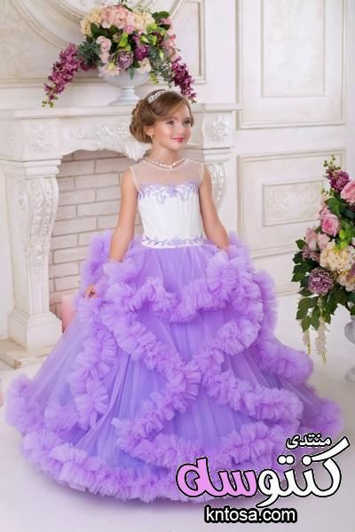 احدث موديلات فساتين الزفاف للاطفال.فساتين بنات.فساتين اطفال للاعراس فخمه.فساتين اعراس للاطفال kntosa.com_15_18_153