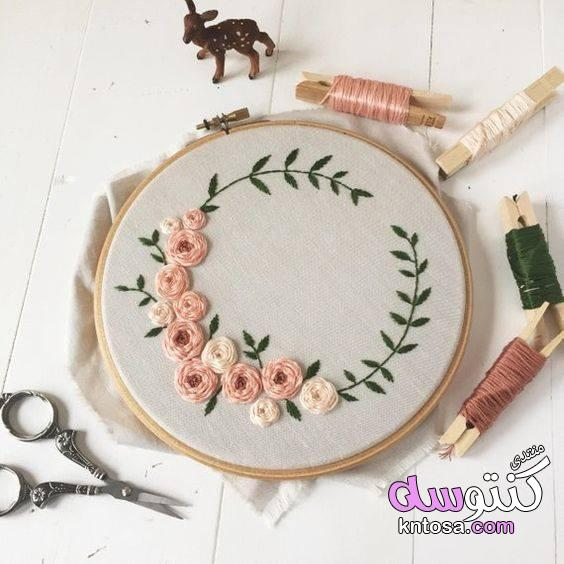 فن التطريز اليدوي,موسوعة التطريز اليدوي الجديد2019,فنون من التطريز التركي,لعشاق التطريز kntosa.com_15_19_155