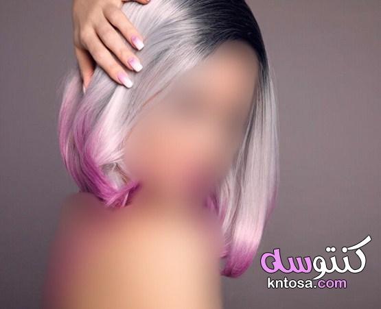 صبغه الشعر الرمادي، طريقه تطبيقها ونصائح قبل وبعد الصبغه kntosa.com_15_19_156