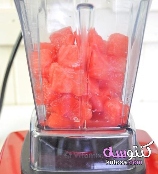 عصير الليمون البطيخ،إعداد عصير الليمون البطيخ ، خطوة خطوة وصفة kntosa.com_15_21_161