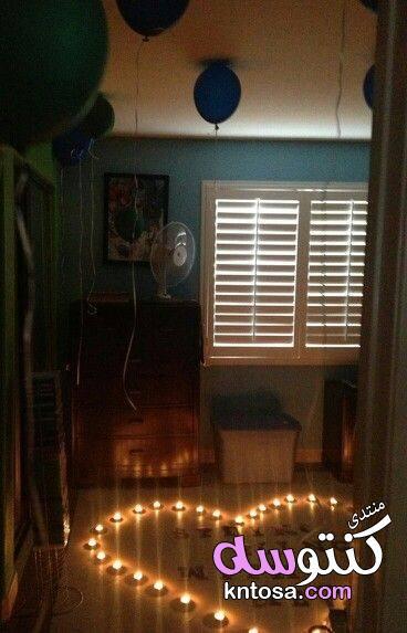 تزيين غرف نوم رومانسية,تزيين غرف النوم للعرسان,طرق تزيين غرف النوم بالصور,افكار لتزيين غرفة النوم kntosa.com_16_19_155