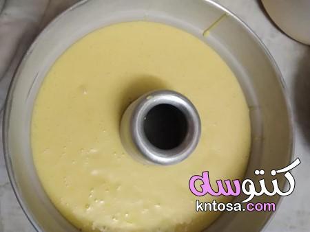 اسهل طريقة لعمل كيكة البرتقال بالصور، طريقة عمل كيكة البرتقال الهشة، كيكة البرتقال بالصور