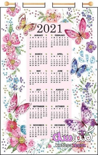 تقويم 2021 ميلادي،التقويم الهجري 1442 والميلادي 2021 kntosa.com_16_20_160