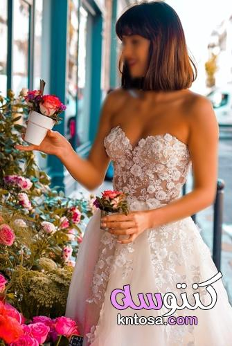 أشهر موديلات فساتين الزفاف لعام 2022