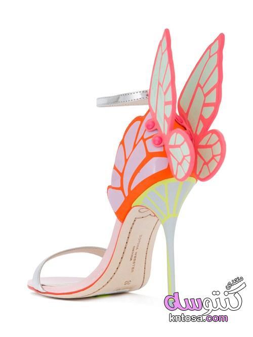 أحذية الفراشات,احدث موضة جزم الفراشة2019,حذاء الفراشة,اروع صنادل فراشات للصبايا kntosa.com_17_19_155