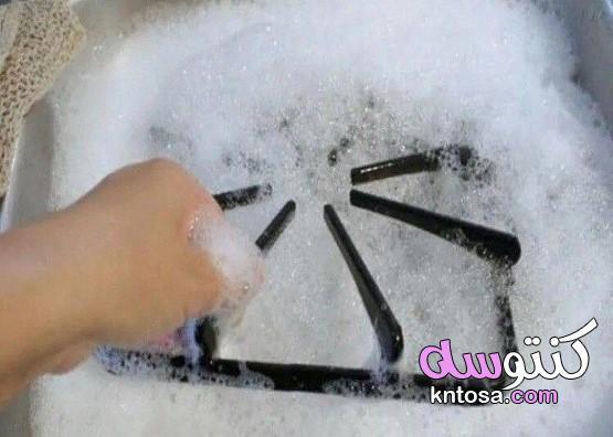 5 طرق لتنظيف شبكة الطبخ أو الموقد التقليدي.طريقة تنظيف البوتاجاز شديد الاتساخ kntosa.com_17_20_157