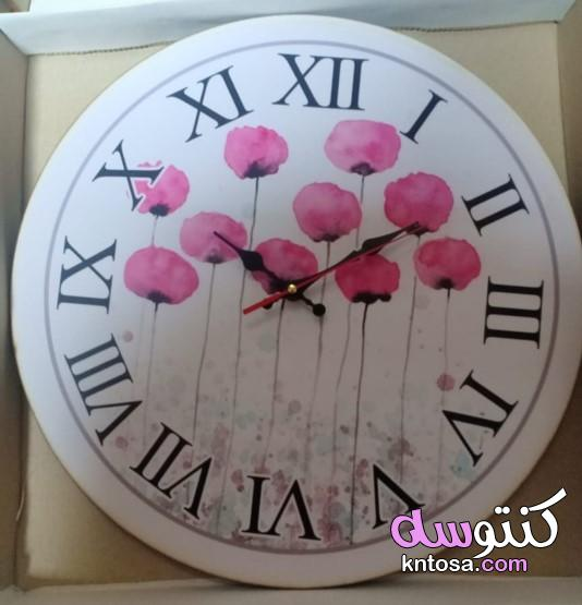 اشكال ساعات حائط مودرن،أشكال ساعات حائط خشبية،ساعات حائط كلاسيك،ساعات حائط فخمة kntosa.com_17_20_160