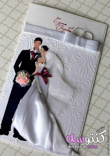 كروت افراح جديدة2019,كروت زفاف جاهزة2019,اشكال كروت زفاف,دعوات زفاف،اشكال كروت اعراس،موديلات كروت kntosa.com_18_19_155