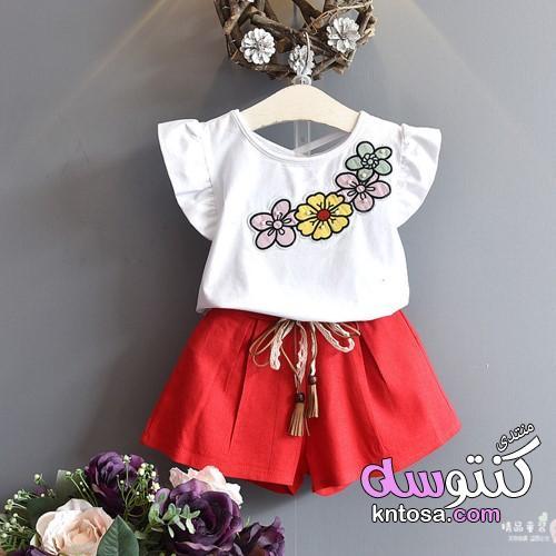 أجمل ملابس أطفال بنات صيفية للعيد 2019,احدث ملابس الاطفال البنات,ملابس بنات للعيد kntosa.com_18_19_155
