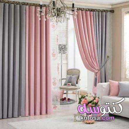 ستائر 2021،تناسق ألوان أقمشة الستائر والكنب،تنسيق الستائر مع لون الجدار kntosa.com_18_20_160