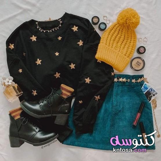 لبس شتوي بناتي 2021،ملابس شتوية للبنات 2021 kntosa.com_18_21_161