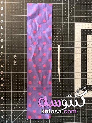 طريقه عمل التوكه في البيت,توك شعر قماش, كيفية صنع اكسسوارات للشعر,طريقة عمل التوكة في خطوات بسيطة kntosa.com_19_19_155