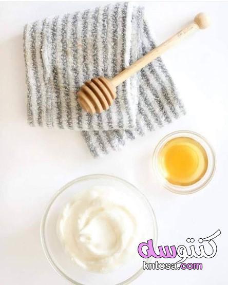 ماسك الزبادي اليوناني للشعر الجاف،تجربتي مع الزبادي والعسل للشعر،الزبادي والعسل للشعر المصبوغ