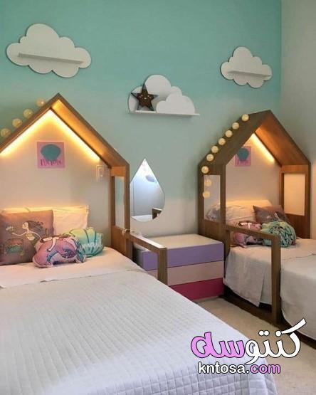 تصميمات متنوعة لغرف نوم الاطفال،اوض نوم اطفال 2021 kntosa.com_19_20_160