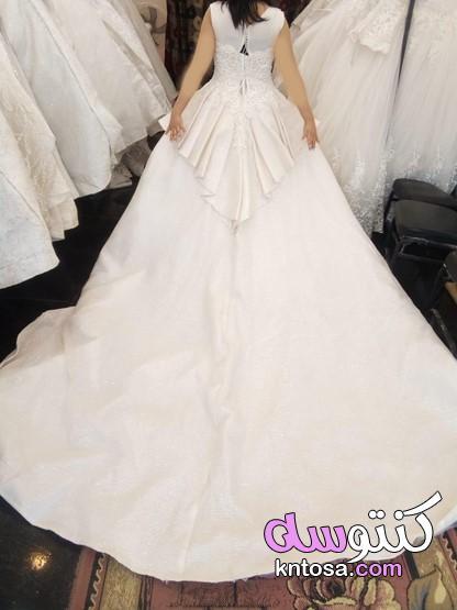 فساتين زفاف عروس 2019 مطرزة وفخمة,اجمل بدلات اعراس موديلات فساتين زفاف لأجمل عروسة 2020 kntosa.com_20_19_157