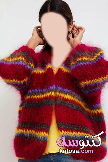 إطلالات رائعة بألوان موضة شتاء 2020،بلوفرات موضة شتاء 2020،سترة نسائية kntosa.com_20_20_157