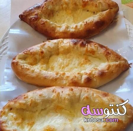 طريقة عمل مناقيش الزعتر والمحمرة وفطاير الجبنة، اسرع عجينة مناقيش،مناقيش جبنة الموزاريلا