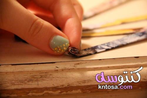 اعادة تدوير الورق بأفكار جميلة ومفيدة لكل أنواع الورق بسهولة kntosa.com_20_21_162