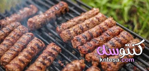 طريقة عمل الكباب المشوي علي الفحم علي طريقة الحاتي وسر التتبيلة والخلطة kntosa.com_20_21_162