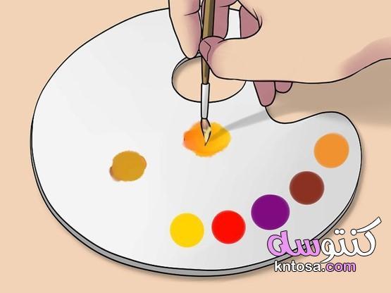 كيفية صنع درجة لون البشرة الطبيعي