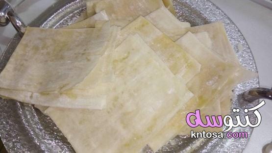 الفطير الكداب بالسكر بدون فرن سهل وسريع التحضير kntosa.com_21_20_160