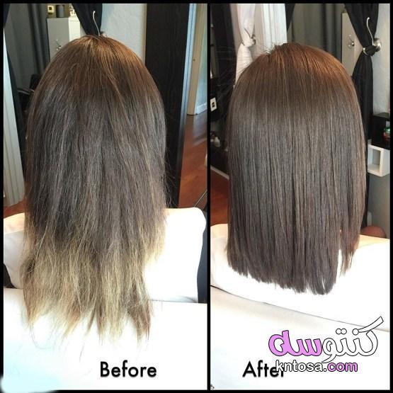 كيف أقص أطراف شعري في المنزل | الطريقة الصحيحة لقص أطراف الشعر kntosa.com_21_21_162