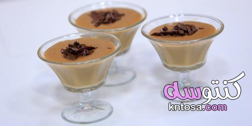 طريقة عمل مهلبية بالقهوة سريعة الذوبان kntosa.com_21_21_162