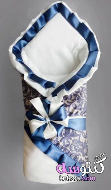 لحفات البيبى,أغطية بطانية لحديثي الولادة,بطانية حديثي الولادة بنقوش روعة kntosa.com_22_19_155