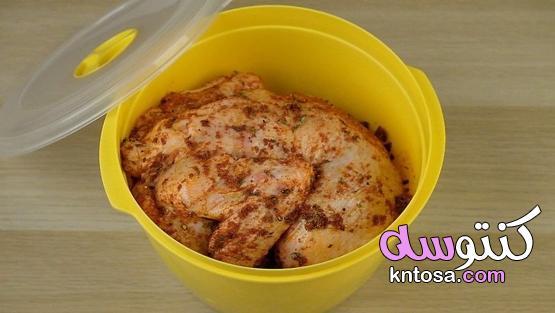 كيفية استخدام التتبيلات الجافة للدجاج