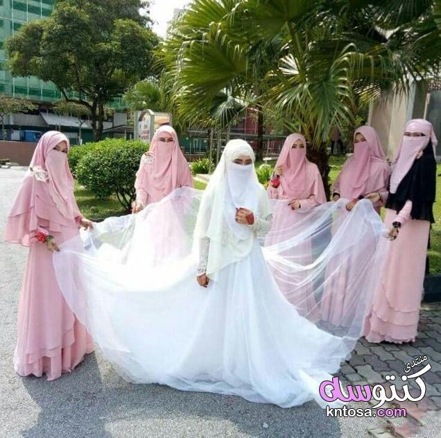 صور فساتين زفاف للمنقبات,فساتين زفاف للمنتقبات اخر جمال,عروسة منتقبة جميلة جدا,فساتين زفاف منتقبات kntosa.com_23_19_154