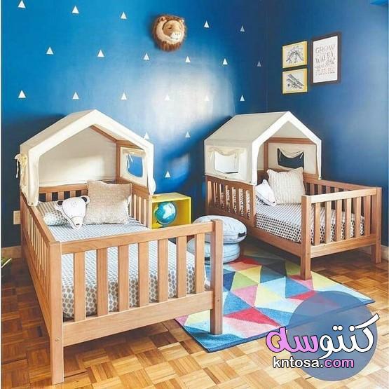 غرف نوم اطفال مودرن 2021،اجمل الصور غرف نوم اطفال kntosa.com_23_20_158