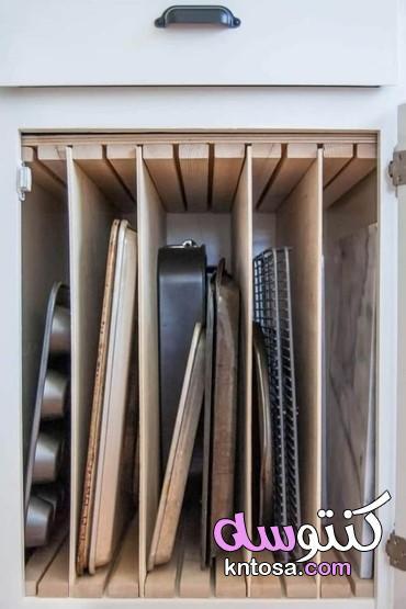 افكار مطابخ،تقسيمات دولاب المطبخ من الداخل،نصائح عند تصميم المطبخ kntosa.com_23_20_159