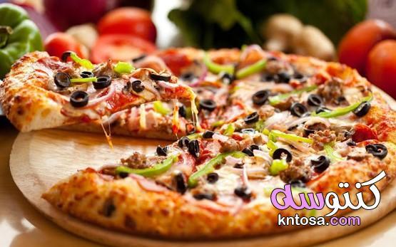 شرح مبسط لكيفية عمل البيتزا الايطالية فى المنزل بطريقه سهلة و نتائج جيدة kntosa.com_24_21_161