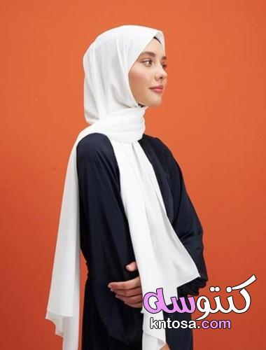 أصبح الحجاب جزءًا مفيدًا من المجموعة: ملامح شال الحرير في المدينة المنورة kntosa.com_24_21_162