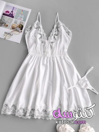 قمصان نوم ليلة الدخلة , صور قمصان بيضاء لكي يا احلى عروسة kntosa.com_24_21_162