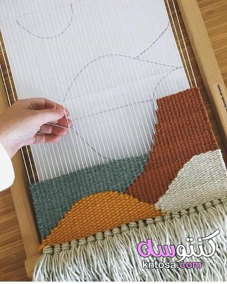 صور فن النسج على النول , طريقة عمل النسيج بالنول خطوه بخطوه kntosa.com_25_19_156